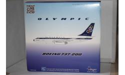 1:200 Boeing 737-200 Olympic SX-BCA,Inflight, масштабные модели авиации, Inflight200