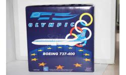 1:200 Boeing 737-400 Olympic SX-BKN,Aviation200, масштабные модели авиации