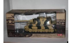 Jagdtiger Sd.Kfz.186 ,Altaya, масштабные модели бронетехники, scale43