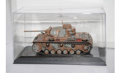 Pz. Kpfw. III Ausf.L (Sd.Kfz. 141) USSR 1942,Eaglemoss, масштабные модели бронетехники, scale43