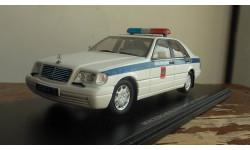 Mercedes-Benz   ADLER SPARK милиция W 140