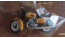 мотоцикл ВОСХОД 3 М масштаб 1:43 желтый, масштабная модель мотоцикла, 1/43