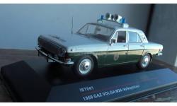 ГАЗ 24 'ВОЛГА'1973 VOLKSPOLIZEI, масштабная модель, 1:43, 1/43, IST Models