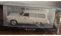 Волга ГАЗ M22 скорой помощи  NEO 1:43, масштабная модель, scale43, Neo Scale Models
