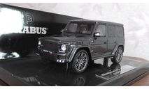 Mercedes-benz  Brabus  G  grau Minichamps 1:43, масштабная модель, scale43
