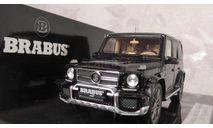 Mercedes-benz Brabus  G   schwarz Minichamps 1:43, масштабная модель, scale43