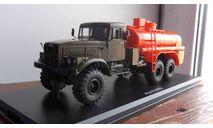 АЦ-8,5 (шасси КрАЗ-255Б) - хаки/оранжевый  SSM, масштабная модель, Start Scale Models (SSM), scale43