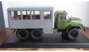 ЗиЛ-131 вахтовый автобус, хаки/серый (Start Scale Models (SSM)), масштабная модель, scale43