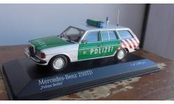 Mercedes-Benz 250 TD 1982  'Polizei Berlin' Minichamps