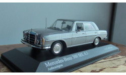 Mercedes-Benz 300 SEL 6,3  Minichamps grey раритет