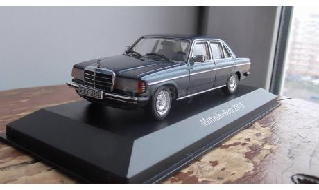 Mercedes-Benz W123  Minichamps, масштабная модель, 1:43, 1/43