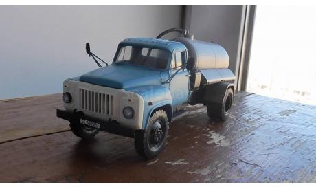 ГАЗ 53 12 Ассенизаторская машина  КО- 503 чистое исполнение Сарлаб, масштабная модель, scale43