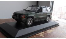 JEEP Grand Cherokee, green metallic Minichamps 1:43, масштабная модель, 1/43