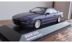 BMW 8-Series  Minichamps 1991 Blue metallic