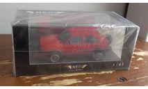 vw golf 2 country  rot  NEO   масштаб 1:43, масштабная модель, Volkswagen, Neo Scale Models, 1/43