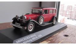 Mercedes-Benz Typ 460 N Nurburg - red/black 1929  WhiteBox