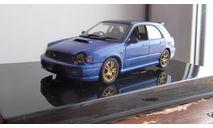 subaru impreza wrx sti wagon AutoArt 1:43, масштабная модель, scale43