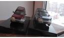 Mitsubishi Pajero  AutoArt  две модели разного цвета 1:43, масштабная модель, scale43