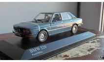 BMW 5-Series Minichamps 1972  blue, масштабная модель, 1:43, 1/43