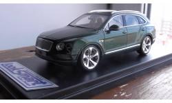 РАСПРОДАЖА Looksmart 1:43 Bentley Bentayga - green