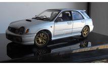 распродажа SUBARU IMPREZA WRX STI  wagon silver  1:43, масштабная модель, Autoart, scale43