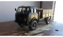 маз 504 полноприводный наш автопром, масштабная модель, scale43