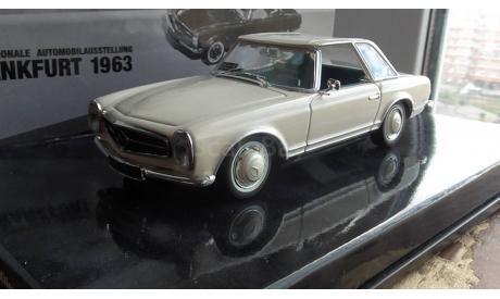 Mercedes-benz   230 SL W 113 Minichamps 1:43, масштабная модель, scale43