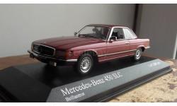 Mercedes-benz   450 SLC   1974 Red metallic Minichamps 1:43