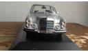 Mercedes-benz   300 SEL  1968  Silver Minichamps 1:43, масштабная модель, scale43
