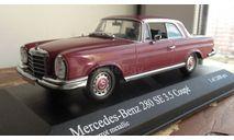 Mercedes-benz   280 SE 3.5  Coupe Minichamps 1:43, масштабная модель, scale43
