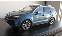subaru forester premium-x  синий  1:43   2013г., масштабная модель, Premium X, scale43