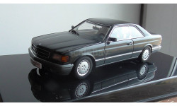 Mercedes-benz 500 SEC W126  Coupe AutoArt  1:43