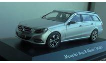 1:43 Mercedes-Benz  E- Klasse T-Modell  Kyosho  silver, масштабная модель, scale43