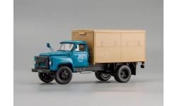 Автомобиль-фургон ГЗСА-3704 1969 г. (морская волна) L.e. 300 pcs. SALE!