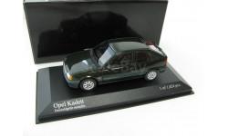 Opel Kadett emerald green metallic 1989 г., масштабная модель, 1:43, 1/43, Minichamps