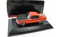 Opel Manta A GT/E orange / black Редкий Шуко!, масштабная модель, 1:43, 1/43, Schuco