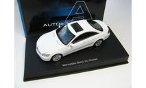 Mercedes-Benz CL Coupe (WHITE), масштабная модель, scale43, Autoart