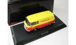 Barkas B1000 Minol red/yellow, масштабная модель, 1:43, 1/43, Schuco