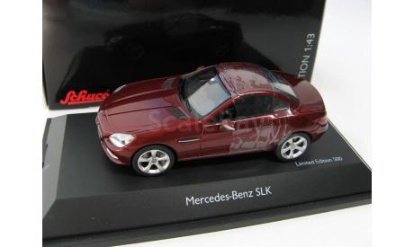 Mercedes-Benz SLK (R172) 2011 Red Metallic, масштабная модель, 1:43, 1/43, Schuco