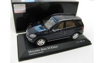 Mercedes-Benz M-class Blue metallic 2011 г., масштабная модель, scale43, Minichamps