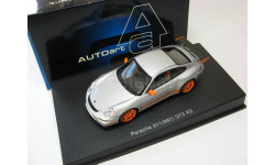 Porsche 911 (997) GT3 RS (silver w/orange stripes)