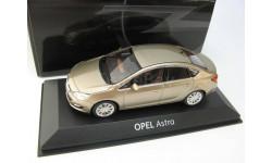 Opel Astra gold metallic, масштабная модель, 1:43, 1/43, Minichamps