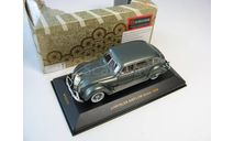CHRYSLER AIRFLOW Sedan Gray/Green Mettalic 1936 г., масштабная модель, IXO Museum (серия MUS), scale43