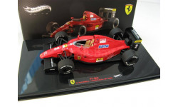 Formula 1 Ferrari F1-90 PORTUGAL GP 1990 Nigel Mansell, масштабная модель, 1:43, 1/43, Mattel Hot Wheels