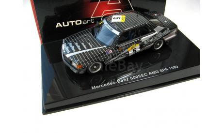 Mercedes-Benz 500 SEC (W126) AMG SPA No.5 1989, масштабная модель, scale43, Autoart