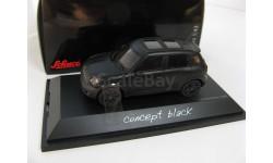 MINI COOPER S COUNTRYMAN (кроссовер 4х4) 2010 Black Matt, масштабная модель, 1:43, 1/43, SCHUCO