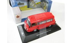 BARKAS B1000 'Feuerwher' (пожарный) 1970 г., масштабная модель, 1:43, 1/43, CARS&CO