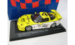 Chevrolet Corvette C5R #4 24h Daytona 2000 г., масштабная модель, 1:43, 1/43, Minichamps