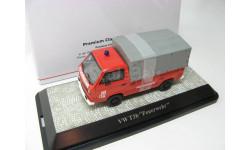 VW T3-b бортовой с тентом 'Feuerwehr' SALE!, масштабная модель, 1:43, 1/43, Premium Classixxs, Volkswagen