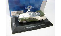 WARTBURG 311-4 KUBEL 'VOLKSPOLIZEI' (White and Green) 1957, масштабная модель, 1:43, 1/43, CARS&CO